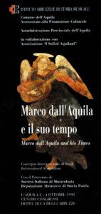 Marco dall'Aquila e il suo tempo