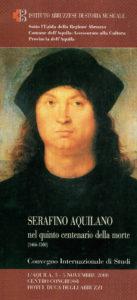 Serafino Aquilano nel quinto centenario della morte