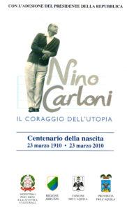 Nino Carloni. Il coraggio dell'utopia