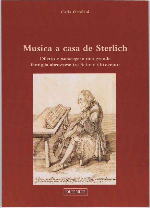 Book Cover: Musica a casa de Sterlich