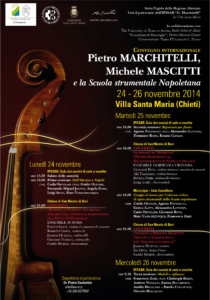 Pietro Marchitelli, Michele Mascitti e la Scuola strumentale Napoletana