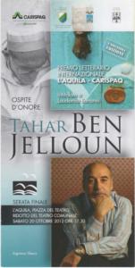 """Premio Letterario Internazionale """"L'Aquila"""" – Carispaq"""