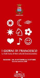 I giorni di Francesco. La Valle Santa di Rieti culla del francescanesimo