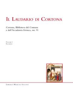 Book Cover: Il laudario di Cortona