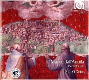 Book Cover: Marco dall'Aquila, Pieces for lute