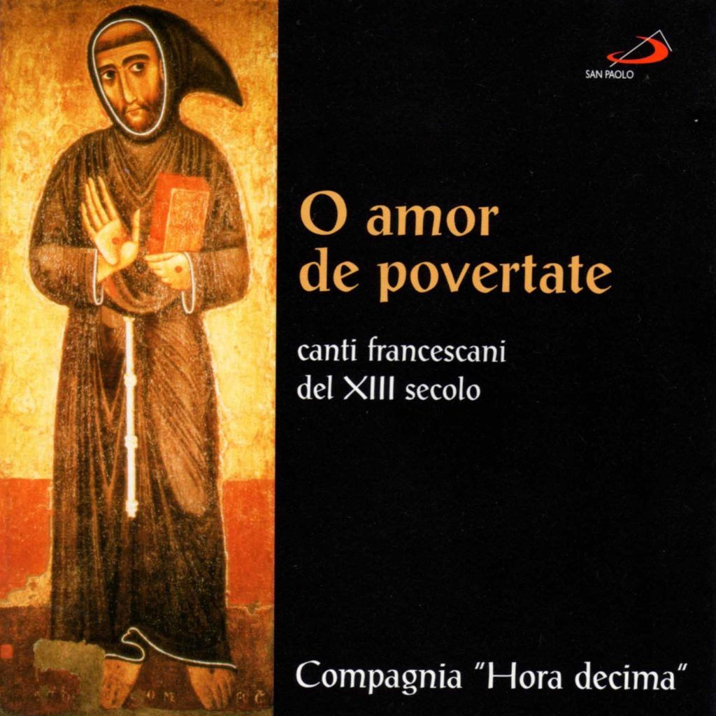 Book Cover: O amor de povertate