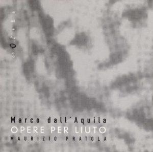 Book Cover: Marco dall'Aquila. Opere per liuto