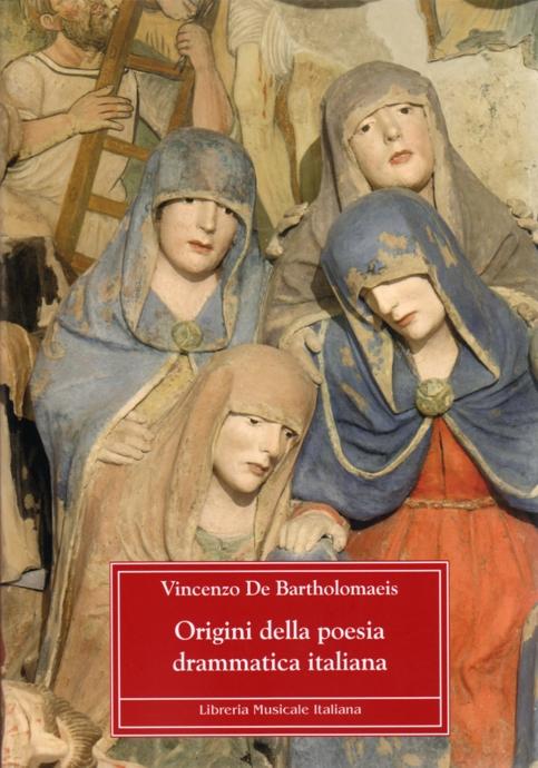 Book Cover: Origini della poesia drammatica italiana