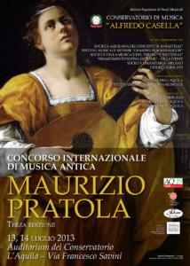 """Concorso Internazionale di Musica Antica """"Maurizio Pratola"""""""