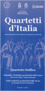 Quartetti d'Italia. Centocinquant'anni di gloria musicale sommersa
