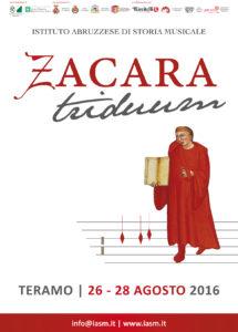 ZACARA TRIDUUM (1416-2016)